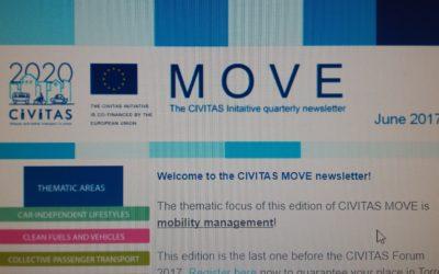 CIVITAS MOVE newsletters