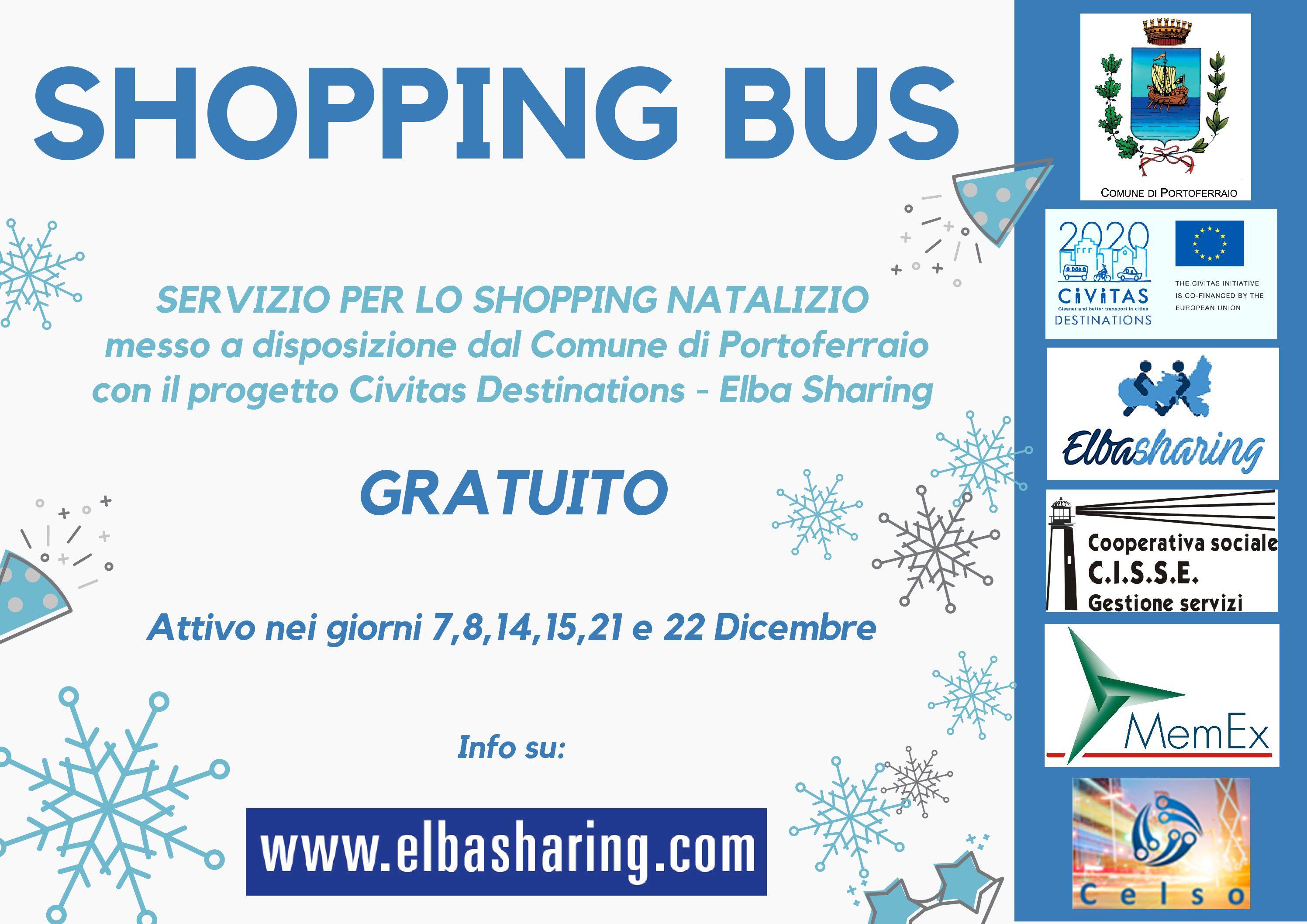 Shopping Bus: attivo a Portoferraio una navetta per i negozi