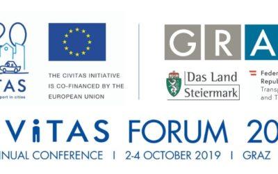 Il Progetto Destinations al CIVITAS FORUM 2019 a Graz