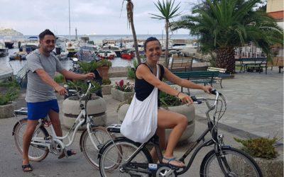 L'Hotel Scoglio Bianco e l'Hotel Mare riscattano le e-bikes di Destinations