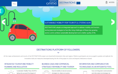 "È on line la ""Platform of Followers""di Destinations"