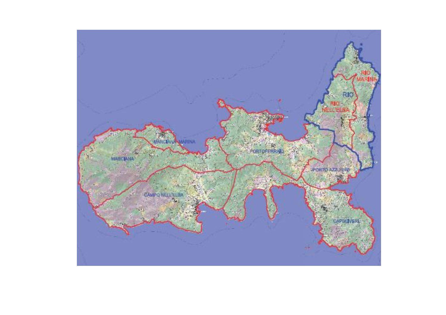 La fusione dei comuni di Rio Marina e Rio nell'Elba e le attività di Elbasharing