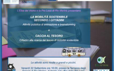 """""""La mobilità sostenibile secondo i cittadini"""" – Brainstorming e animazione"""
